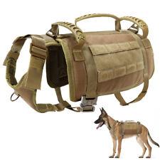 Adjustable No Pull Dog Harness Medium Large MOLLE Training Vest Doberman Pitbull