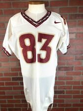 Florida State Seminoles Fsu Team Issued Nike Ncaa Football Jersey White Size 48