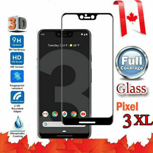 For Google Pixel 2 3 XL 2XL 3XL Full Coverage 3D Tempered Glass Screen Protector