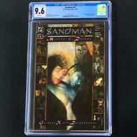 Sandman #2 💥 CGC 9.6 WHITE 💥 Cain & Abel App Neil Gaiman DC Vertigo Comic 1989