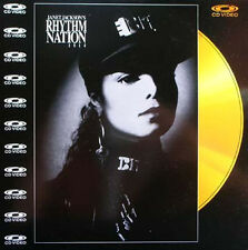 JANET JACKSON -  Rhythm Nation 1814 Laser Disc