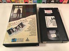 * Snatched Rare TV Movie Thriller VHS 1973 Barbara Parkins John Saxon OOP HTF