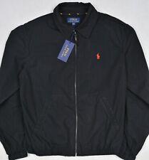 Polo Ralph Lauren Bayport Pony Surplus Black Windbreaker Jacket XXL NWT