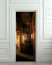 Door STICKER corridor decole poster