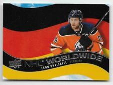 20/21 2020 UD UPPER DECK SERIES 1 HOCKEY NHL WORLDWIDE CARDS WW-XX U-Pick List
