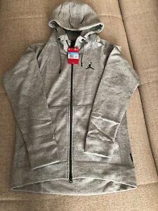 Orig. Nike Air Jordan Sportswear Wings Fleece Full Zip Hoodie Hoody Gr. M NEU