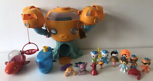 Octonauts Octopod Playset Bundle with Figures and Sea Creatures