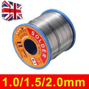 Soldering Solder Wire Fluxed Core DIY Hobbyists Electronics 60/40 Tin Lead Flux