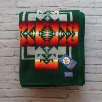 New Pendleton Beaver State Wool Blanket Native Indian Chief Joseph 64 x 80