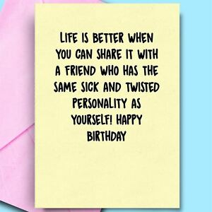 Best Birthday Cards For Wife Friend Uncle Bestfriend Cheeky Fun Comedy Rude