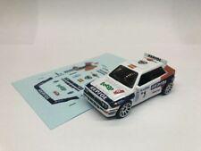 DECALS - Carlos Sainz - Monte Carlo 1993 Repsol - For Hot Wheels Lancia Delta