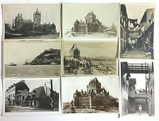 T8662    QUEBEC CITY,  QC.,  CANADA  POSTCARD LOT,     6 DIF.  REAL PHOTO  CARDS