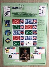 Bradbury History of Britain Smiler Sheet No.10 - Centenary of Scouting. MNH.