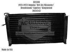 71 72 1971 Chevy Impala Bel Air Caprice Biscayne AC Condenser OEM 3024542 AC1580