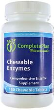 Hypoallergenic Chewable Complete Broad-Spectrum Enzymes for Kids and Adults