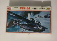 VINTAGE BLACK CAT CATALINA PBY-5A 1:72 REVELL PLASTIC MODEL KIT El Gato Negro