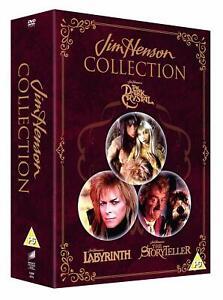 Jim Henson Collection  Dark Crystal, Labyrinth, Storyteller [DVD] New UK release