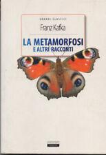 La METAMORFOSI E ALTRI RACCONTI Franz Kafka Crescere Edizioni LIBRO Nuovo