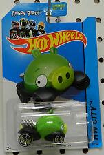 ANGRY BIRDS MINION PIG GREEN 81 2014 CITY HW HOT WHEELS