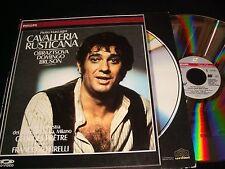 """CAVALLERIA RUSTICANA<>GEORGES PRETRE<>12"""" Laserdisc<>PHILIPS 070 203-1"""