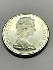 1967 Canada Silver Centennial Dollar Unc++ #6897