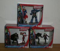 Schleich JUSTICE LEAGUE - Batman, Harley Quinn, Superman, Darkseid, The Joker