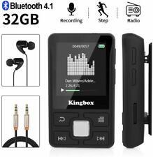 Lettore MP3 Bluetooth da 32 GB Mini clip con funzione contapassi + auricolari