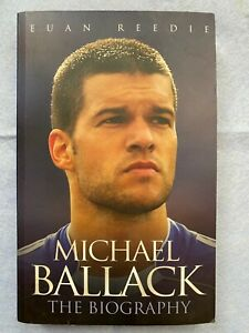 Michael Ballack Germany Biography Autographed Chelsea Bayern Munich with a gift