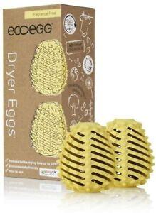 Ecoegg Dryer Eggs Fragrance Free 2 Gold Laundry Cleaning Washing Machine Tumble