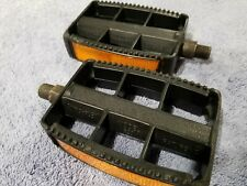 1970s Miro-Flex Model 620 Vintage Old School Bmx Poly Pedals 1/2 inch Mongoose