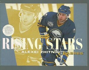 1995-96 Fleer Ultra Rising Stars #10 of 10 Alexei Zhitnik