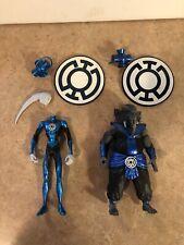 DC Direct Green Lantern Blackest Night 2 Figure Lot Blue Hope Brother Warth