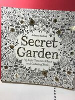 Secret Garden An Inky Treasure Hunt And Coloring Book NEW