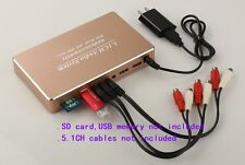 5.1CH Audio System, HDMI/USB/SD/Wifi,Digital to Analog Decoder,WAV FLAC APE DTS