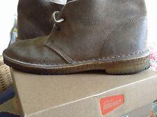 Clarks Originals Mens 8 M Suede Leather Chukka Desert Boots