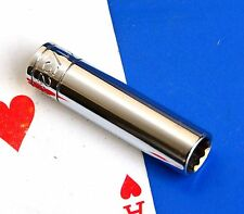 """SK Hand Tool 1/4"""" Drive 11/32"""" Deep 12-point SuperKrome Chrome Socket wrench NEW"""
