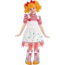 LALALOOPSY SPOT SPLATTER SPLASH COSTUME Toddler Girls 3T-4T Fancy Dress Doll NEW