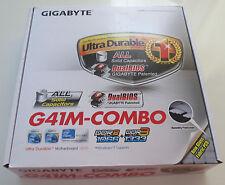 NEW Gigabyte GA-G41M-Combo Motherboard CPU LGA775 Intel G41 DDR3 DDR2 SATA PATA