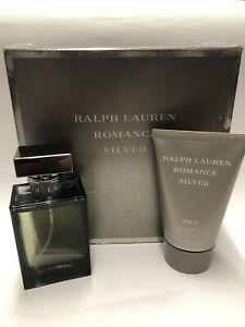 Ralph Lauren Romance Silver 50ml Edt & 50ml Shower Gel For Men