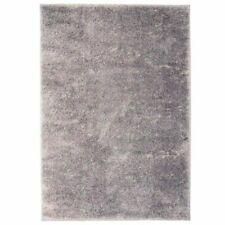 vidaXL Shaggy Area Rug 80x150cm Grey Home Office Soft Fluffy Floor Carpet Mat