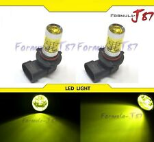 LED 30W 9005 HB3 Yellow 3000K Two Bulb Head Light High Beam Replace Plug Play OE