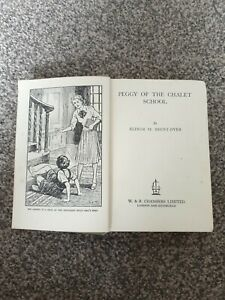 Peggy of the Chalet School - Elinor M Brent Dyer - 1st Edition - HB - 1950