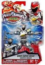 Power Rangers Dino Super Charge 12.5cm Dino Super Drive Graphite Ranger Figure