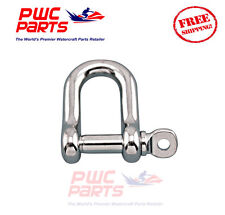 SENECA Marine Stainless Steel 316 STRAIGHT D Shackle w Pin Boat Anchor 5/32""