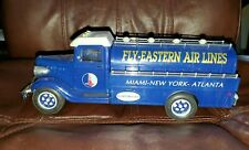 Eastern Airlines Truck coin Bank. Battery Operated,