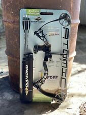 2020 Diamond Atomic Youth Compound Bow Package, Black, RH