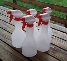 5x Sprühflasche leer mit Sprühkopf Flasche 500 ml Zerstäuber Schäumer Handsprühe