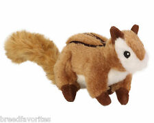 GoDog Wildlife Dog Toys Chipmunk Small or Large