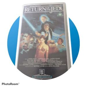 Star Wars The Return Of The Jedi VHS 1983