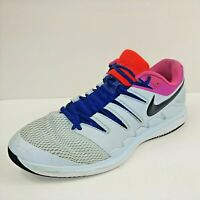 Nike Mens Air Zoom Vapor X HC Size 11.5 Tennis Shoes AA8030-401 Blue White Pink